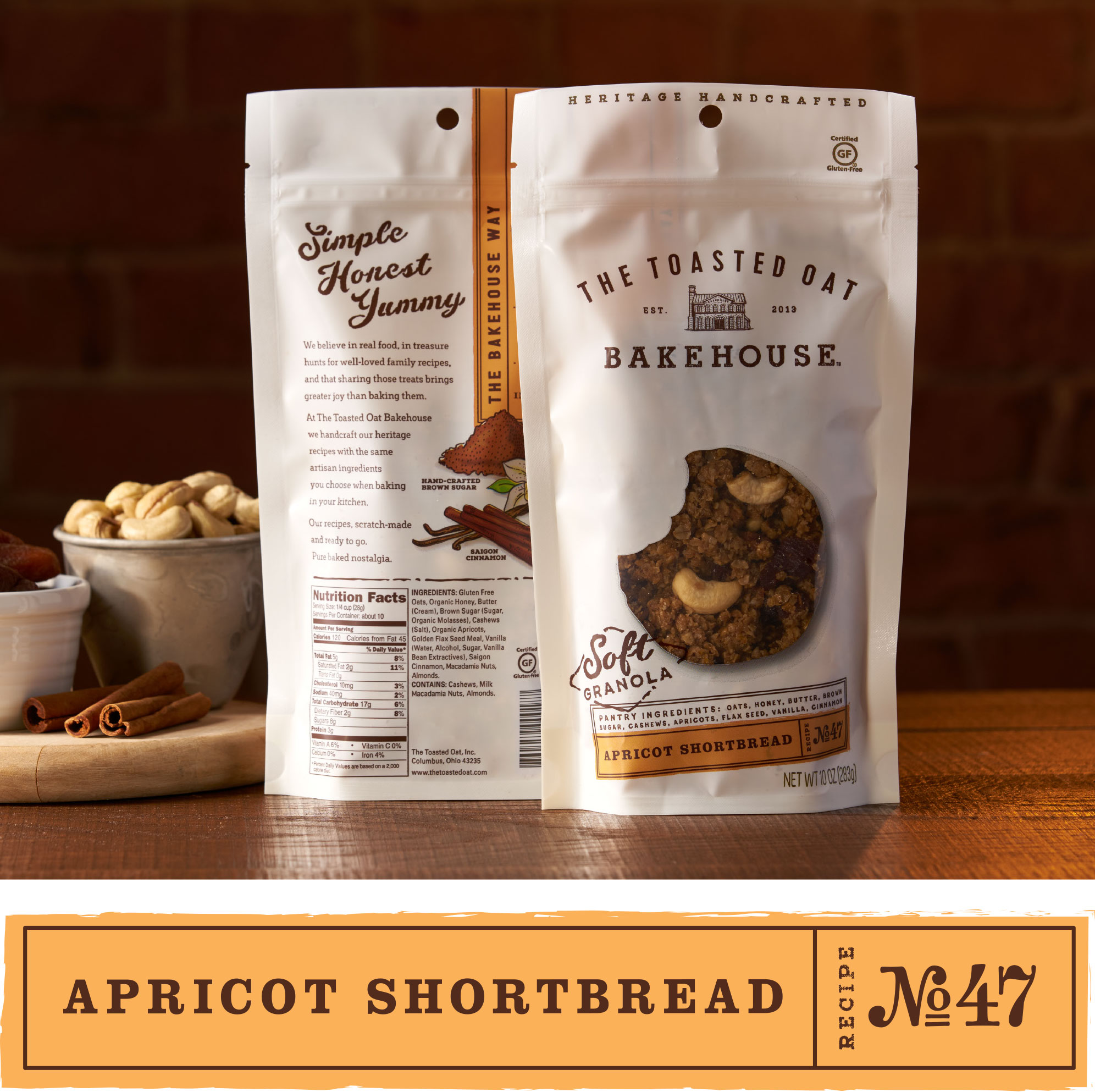 Apricot Shortbread   No. 47   The Toasted Oat