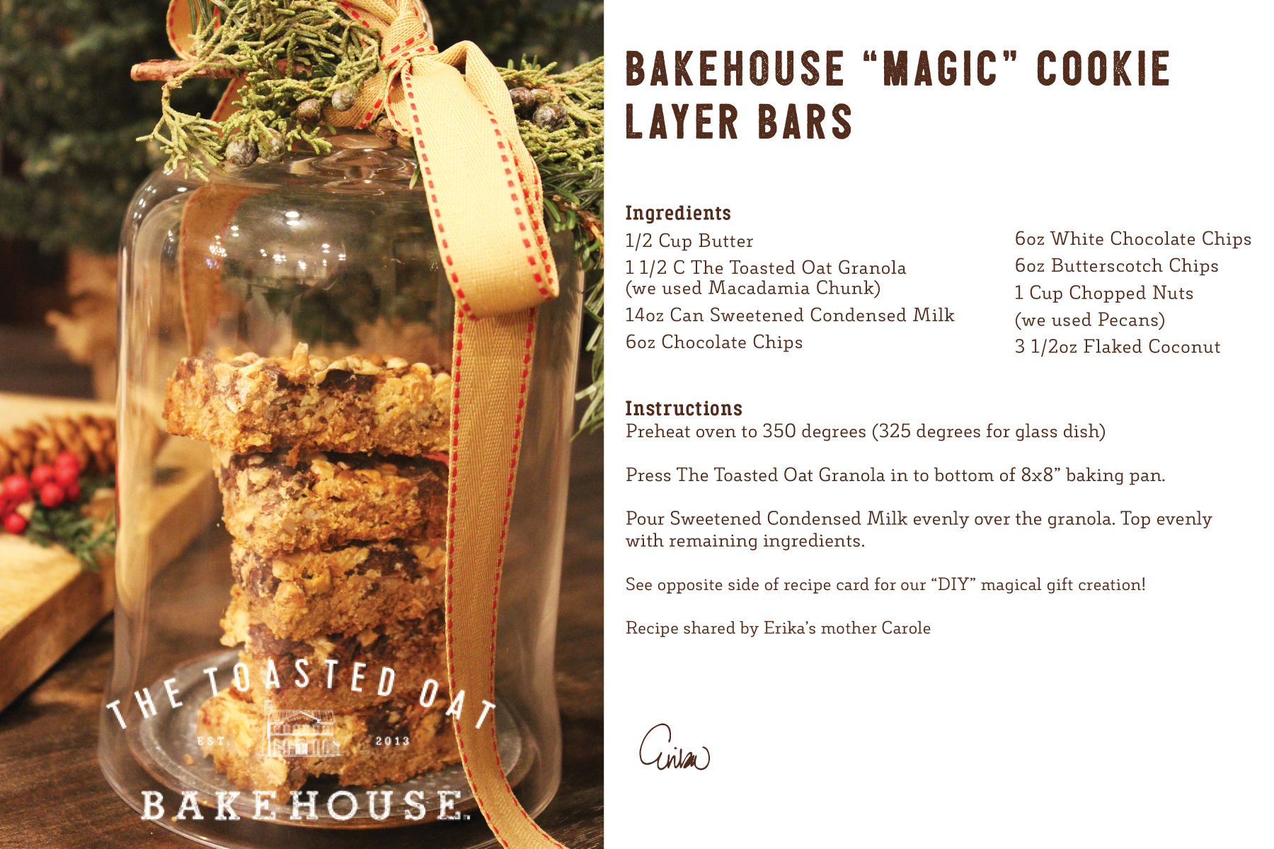 """Bakehouse """"Magic"""" Cookie Layer Bars"""