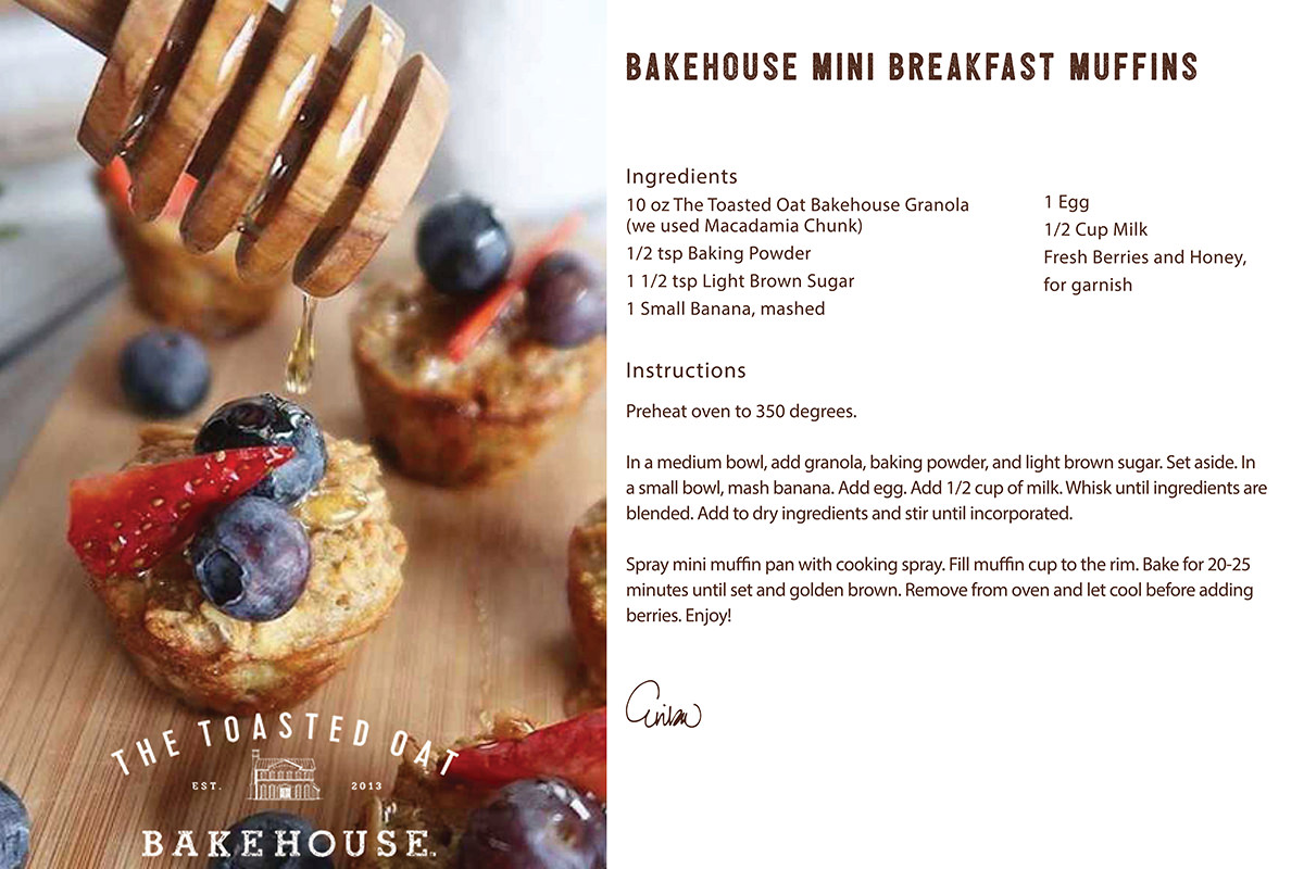 Bakehouse Mini Breakfast Muffins