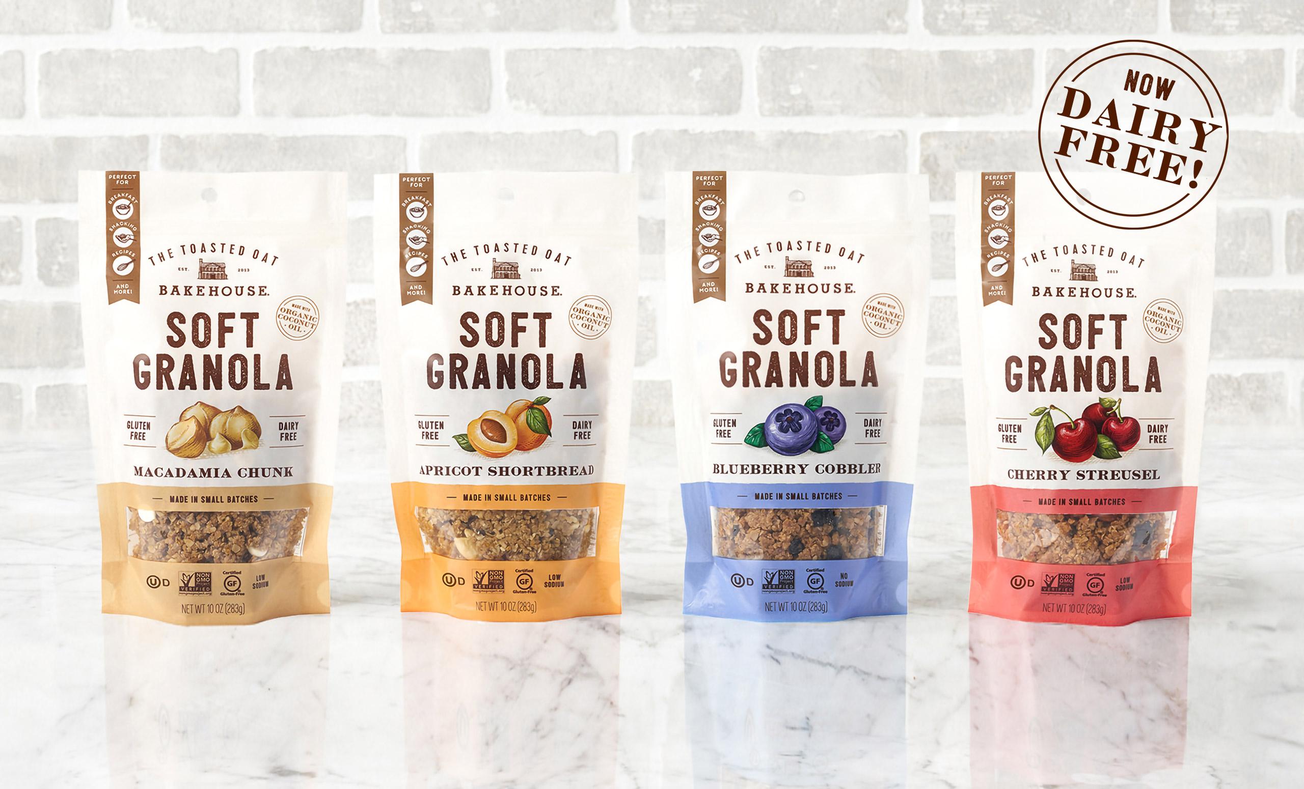 The Toasted Oat Bakehouse Soft Granola
